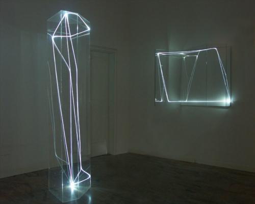 06 CARLO BERNARDINI 2004, third room, Spazia Gallery, Bologna.