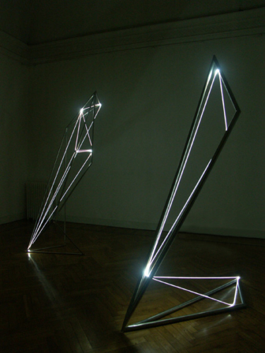 11 CARLO BERNARDINI 2004, second room, Milano Gallery, Milan