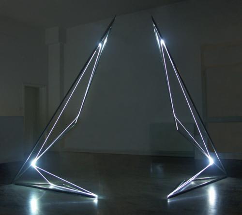 20 CARLO BERNARDINI 2004, first room, Spazia Gallery, Bologna