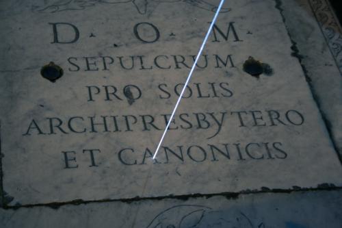 61 Carlo Bernardini Light beyond the matter, 2011 Optic Fiber installation, feet h mt 128 x 39. Basilica S.Maria in Montesanto Rome
