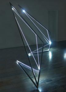 03 CARLO BERNARDINI 2004, prima sala nella Galleria Spazia, Bologna.