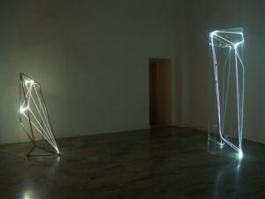 05 CARLO BERNARDINI 2004, Terza sala nella Galleria Spazia, Bologna.