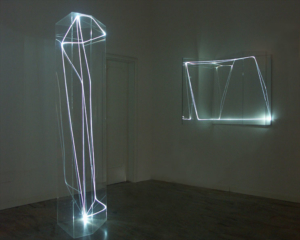06 CARLO BERNARDINI 2004, Terza sala nella Galleria Spazia, Bologna.