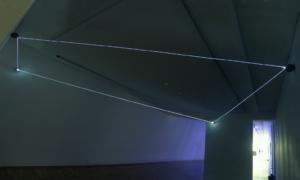 18 CARLO BERNARDINI, Event Horizon 2007, fibre ottiche, sfere in terracotta; mt h 3x6x5. Kosice-Slovakia, Vychodoslovenskà  Galéria.