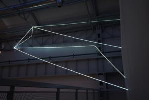 28 Carlo Bernardini, Campo Organico di Luce 2010, installazione in fibre ottiche interno esterno, mt h 5x20x10. La Scultura Italiana del XXI secolo, Fondazione Pomodoro, Milano.