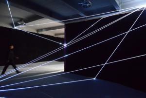 21 Carlo Bernardini Invisible Dimensions, 2016 Installazione in fibre ottiche, h mt 4 x 10 x 15. 898 Innospace, GIC Global Innovator Conference, Pechino