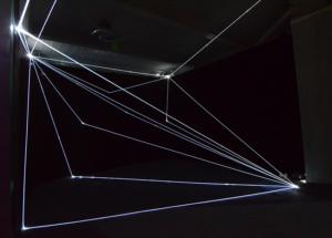 23 Carlo Bernardini Invisible Dimensions, 2016 Installazione in fibre ottiche, h mt 4 x 10 x 15. 898 Innospace, GIC Global Innovator Conference, Pechino