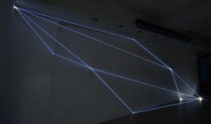31 Carlo Bernardini Dimensioni Invisibili, 2016 Fibre ottiche, mt h 3 x 9 x 1,50. Legnago (VR) FerrarinARTE