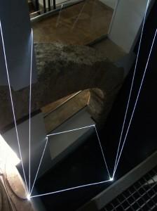 18 CARLO BERNARDINI, PERMEABLE SPACE 2008; Installazione ambientale in fibre ottiche, feet h 13x4x3. Valencia, La Nau - Universidad de Valencia.