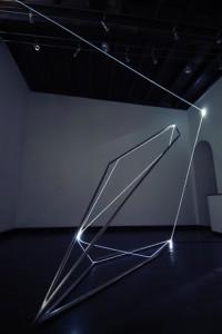 34 CARLO BERNARDINI, LA LUCE CHE GENERA LO SPAZIO, Particolari della mostra. Delloro Arte Contemporanea, Roma 2009 - 2010.