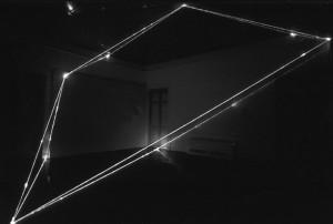37 CARLO BERNARDINI, Spazio Permeabile 2000, fibre ottiche, mt h 5,5x7x8, Art Gallery Silpakorn University, Bangkok.